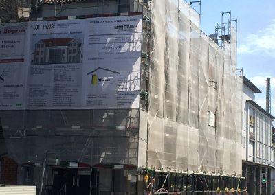 Wohn u. Geschäftshaus in Hameln – Heizung und Sanitärinstallation (Bauzeit: 2016)